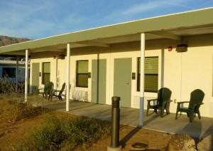 Efficiency rooms exterior