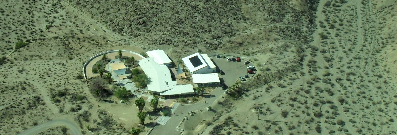 Anza-Borrego Desert Research Center From the Air!