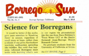 Science for Borregans