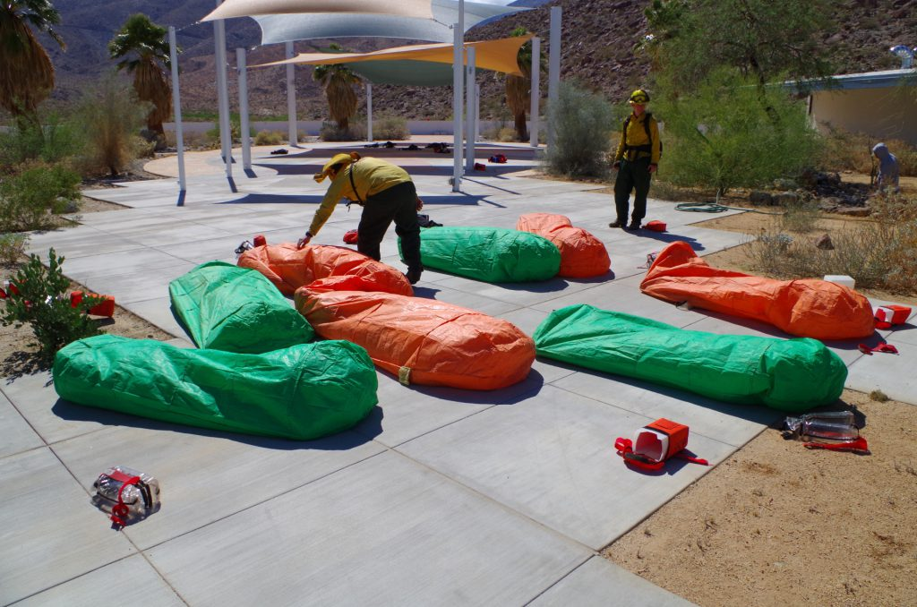 Fire Shelter Training
