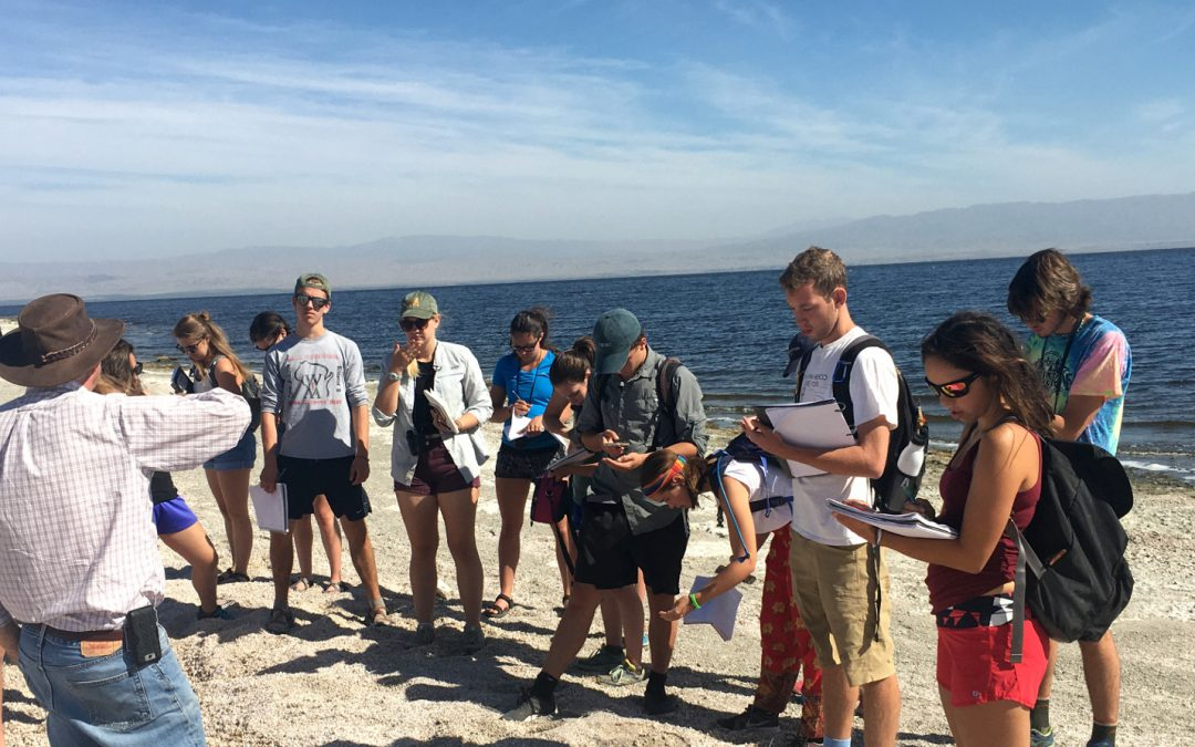 Colorado College field trip focused on the crisis-stricken Salton Sea