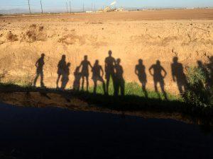 student shadows