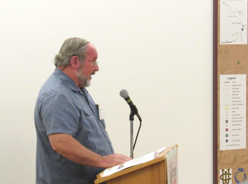 Jim Dice speaking