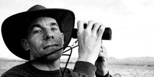 Steve Bier at Borrego hawk watch