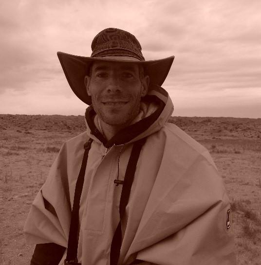 Steve Bier in Mongolia (2016).