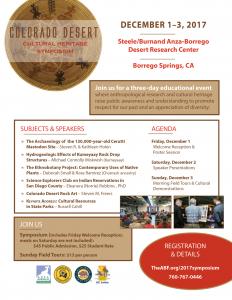 Colorado Desert Cultural Heritage Symposium